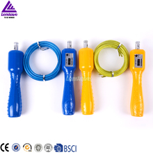 Sports Crossfit Steel Wire Jump Rope Lenwave Brand 2 Colour Counter Skipping Rope(China)