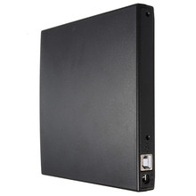 Portable Slim USB 2.0 DVD CD DVD-Rom IDE Cover DVD RW Burner ROM Drive External Case Enclosure Caddy Laptop Notebook