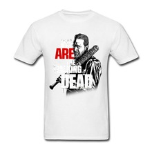 Cool Funny T Shirt High Quality Tees Gildan O-Neck We Are The Walking Dead Men Short New Style Tee Shirt