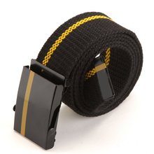 Wholesales Fashion Men Women Lady Leisure Belts Unisex Joker Canvas Wide Belt Multicolor
