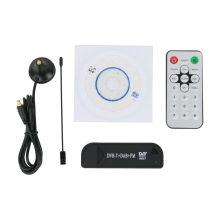 USB DVB-T TV STICK Digital TV Receiver TV tuner , EZCAP USB 2.0 DVT-T DVB-T Stick Dongle with FM, R820T(China)
