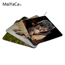 MaiYaCa german shepherd Rubber Soft aming Mouse ames Black Mouse pad 18*22cm 20*25cm and 25*29cm