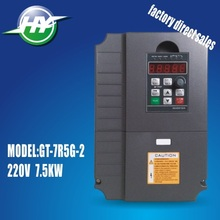 7.5KW 220V AC drive vector control inverter frequency inverter  VFD Huanyang variable frequency drive Factory Direct Sales