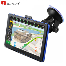 Junsun 7 inch HD Capacitive Car GPS Navigation 8GB MP3/MP4 FM Russia Navitel map Permanent free update navigators