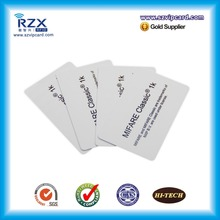 ISO1443A 13.56MHZ MIFARE Classic 1K card RFID blank card for Zebra/Fargo printers 20pcs(China)