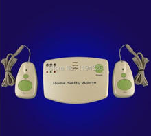 Home used wireless alarm for the elderly / maternal / patient  help, 433MHZ Home care device (with 2 sos button)