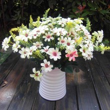 Artificial Chrysanthemum Flower 32cm Rare Garden Landscape Fake Flower Wedding Home Decor F2