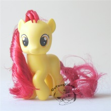 P6-07 Action Figures 6.5cm Little Cute Horse Model Doll Crusaders Apple Bloom Anime Toys for Children(China)