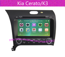 Free Shipping Car Dvd Gps For Kia Cerato/K3 2013 Built-in GPS Navigation,Bluetooth,Radio,IPOD,TV,USB,SD+ Russian Languag