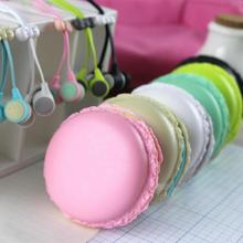 2016 Macarons design Earphone Headset For Xiaomi Samsung iPhones ipad Cute Earphone for MP3 Player