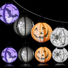 Halloween Lantern Pub Costume Party LED Festival Night Light Costume For Kids Indoor Outdoor Decoration For Home Yard(China)