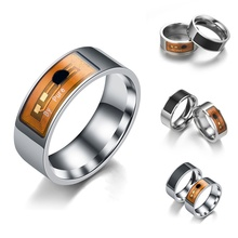 Smart Rings Wear Ring Black Finger Digital Ring For Android Phone with Function(China)