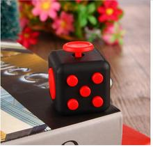 HOT Mini Fidget Cube Desk Finger Toy Keychain Squeeze Fun Stress Reliever Puzzle Magic Cube 11 Colours best price(China)