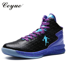 Plue Size 38-47 Basketball Shoes Men Sneakers Professional Athletic Shoes Lace up Ankle Shoes Shockproof basket homme baloncesto(China)