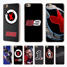 jorge lorenzo lorenzo 99 Logo red X style clear phone shell Case for Xiaomi Redmi Note 3 Note4 3 3s 4 4A Xiaomi Mi 4 5 5s