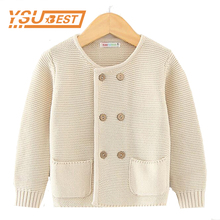 Girls Cardigan Baby Cute Boy Sweater 2017 Spring Female Children Clothing Kids Cardigan Sweaters Girls Fashion Knitted Outerwear