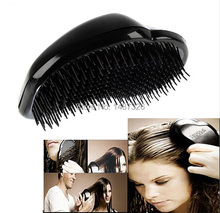 New Super Elastic Head Scalp Massage Comb Hair Brush Stress Relax(China)