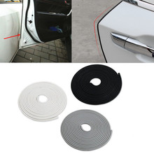 5M Universal Car Door Edge Guard Trim Molding Protection Strip Scratch Protector For Mitsubishi BMW Renault Peugeot Hyundai Kia(China)