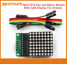 Fast Free Ship 5pcs/lot Display module MAX7219 lattice module control module MAX7219 Dot Led Matrix Module MCU LED Display