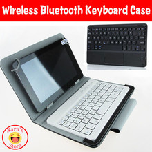 Wireless Bluetooth Keyboard leather case Cover For 10.1 inch For Acer Tab A210 A211 A200 A510 A500 free 3 gifts