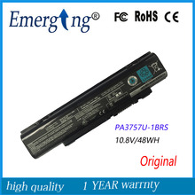 10.8V 48Wh New  Original  Laptop Battery for Toshiba Qosmio PA3757U-1BRS PABAS213 F60 F750 F755 T750 T851