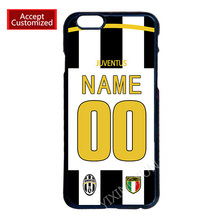 Juventus Custom Jersey Your Name Number Phone Cover Case for Samsung Galaxy S3 S4 S5 Mini S6 S7 S8 Edge Plus Note 3 4 5