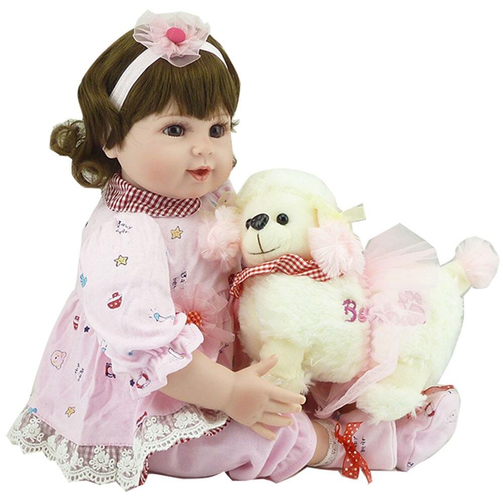 20inch Reborn Dolls Handmade  Realistic Reborn Baby Doll Silicone Reborn Dolls Toys Lifelike BeBe Reborn Newborn Bonecas Toys<br><br>Aliexpress