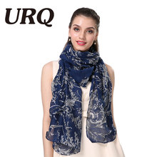 2016 fashion flower viscose scarf women long soft spring shawls best gift for ladies brand scarves echarpe V8A18443