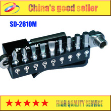 Free Shipping Brand Proskit SD-2610M 10 In 1 Stainless Ratchet Bit Set, Wrench Driver Set, Screwdriver Torx Hex Set