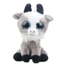 15CM Ty Beanie Boos 6 Inch Gabby the Goat Plush Stuffed Animal Collectible Big Eyes Plush Doll Toy Birthday Gifts for Children