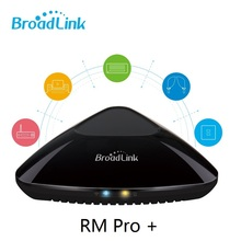 Buy Newest Broadlink RM Pro+ Universal control controller IR RF smart remote control wifi 3G 4G ios Android smart home automation for $37.90 in AliExpress store