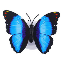 10 x Lovely Multi-Color Changing Beautiful Butterfly LED Night Light Lamp (Color: Random)(China)