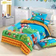 3D Bedding Set Game Kids Bed Set Twin Full Queen Size 2/3pcs Duvet Cover Pillow Sham Free Dropping shipping