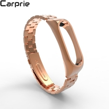 Buy NEW ! Stainless Steel Luxury Wristband Metal Ultrathin New Strap Xiaomi Mi Band 2 high sep5 for $8.17 in AliExpress store