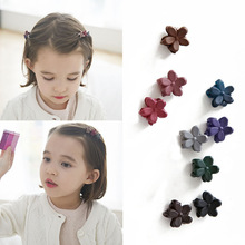 Small Flower Baby Kids Hair Clips 2016 New Hair Claws Lovely For Child Cute Hair Accessories Fashion For Student Free Shipping