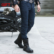 Casual straight black jeans UGLYBROS Guardian ubp09 jeans motorcycle protection pants men moto pants with detachable protector