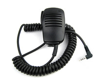 3.5mm Handheld Speaker Mic Microphone PTT for YAESU CB Radio Walkie Talkie VX-3R VX-5R VX-10 VX-14 VX-17 VX-110 VX-150 VX-130(China)