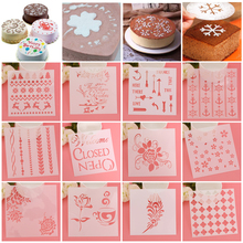 1 Pc 12 Styles Flower Fondant Cake Embossed Mould Wedding Baking Decorating Stencil Spraying Die New