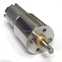 EBOWAN Geared Electric DC 6v 50RPM Motor Small Powerful High Torque