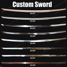 Design Your Katana Swords -  HanBon Forge, please send us messages first!