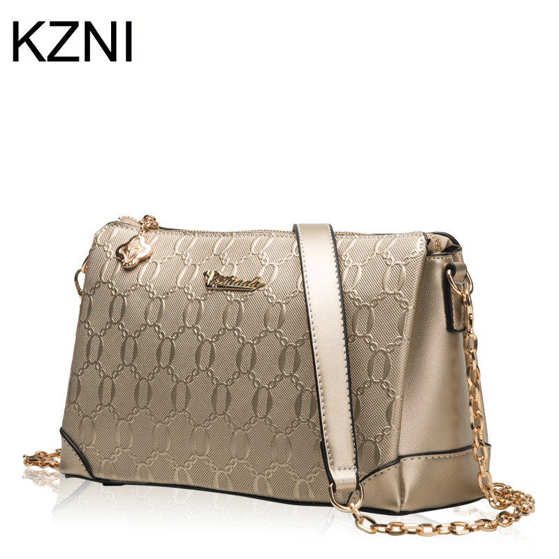 KZNI genuine leather bags famous brand mini bags crossbody bags for women carteras mujer marcas famosas cuero genuino L122502<br><br>Aliexpress