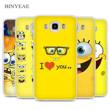 BINYEAE Sponge Bob Cell Phone Case Cover for Samsung Galaxy J1 J2 J3 J5 J7 C5 C7 C9 E5 E7 2016 2017 Prime