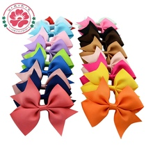 20pcs/lot 3.5''  Girls' Hair Accessories Boutique Hair clips Grosgrain Ribbon Pinwheel Bows for Headband  565