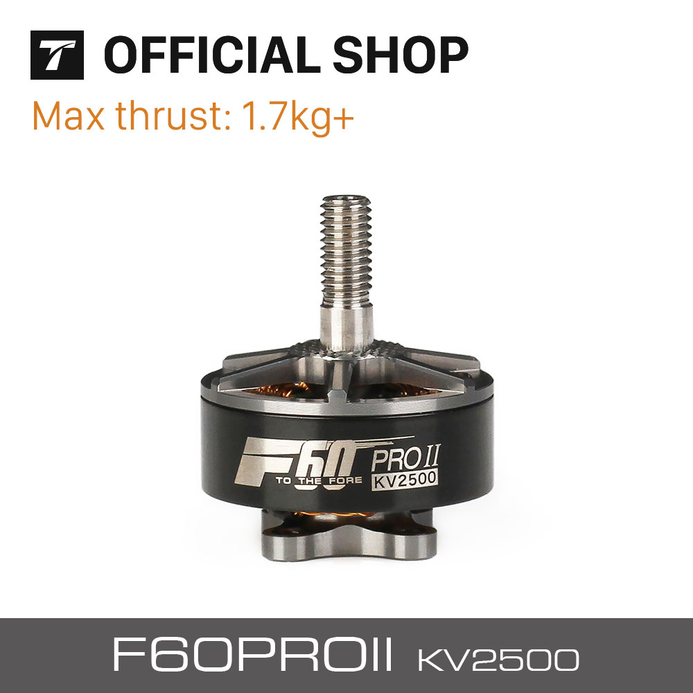 T-motor F60 PRO II 2500KV Grey New Series Brushless Waterproof Motor For RC Airplane Multicopter Drone <br>