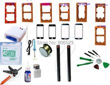 New LCD Display Touch Screen Tools Kit refurbish Front Glass Separate Repair for iPhone 4 5 Galaxy S4 i9500 i9300 N9000 N7100