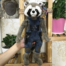 Free Shipping 45cm 17.7'' Original Guardians of the Galaxy 2 Rocket Racoon character Plush Toys Doll For kids Gifts&birthday