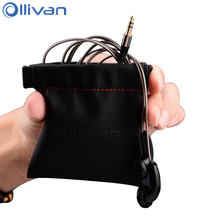 Ollivan PU Leather Earphone Bag Waterproof Headset Storage Bags Portable Carrying Case For Headphones Accessories Mini Pouch