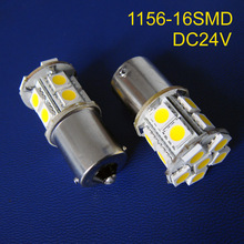 High quality 24V DC10-30V 1156 1141 BA15s BAU15s PY21W P21W R5W led Freight car Light,Led Turn Signal free shipping 20pcs/lot(China)