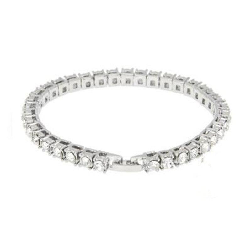 Diamond Gold Tennis Bracelet (3)