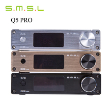 SMSL Q5 Pro 45W*2 HiFi 2.0 Pure Mini Home Digital Audio Power Amplifier 24bit/96kHz USB DAC/Optical/Coaxial With Remote Control(China)